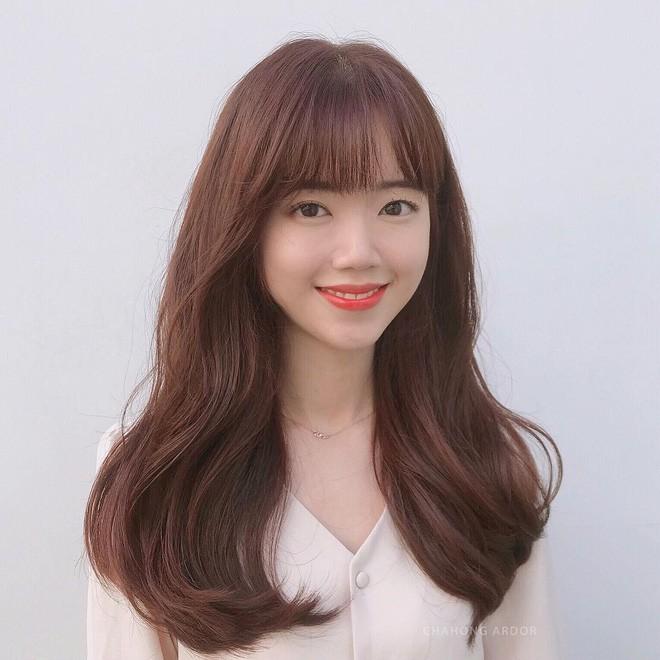 5 màu tóc nhuộm nâu được sao Hàn mê mệt: Làm sáng bật tông da, giúp nàng ngoài 30 trẻ ra cả 5 tuổi chứ không ít - Ảnh 8