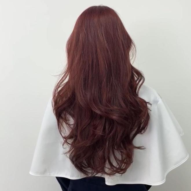 5 màu tóc nhuộm nâu được sao Hàn mê mệt: Làm sáng bật tông da, giúp nàng ngoài 30 trẻ ra cả 5 tuổi chứ không ít - Ảnh 9