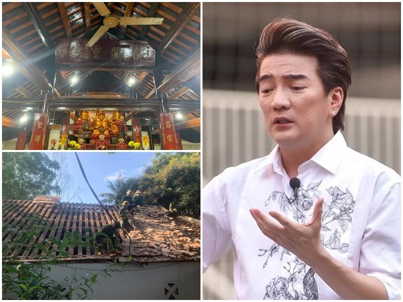 Đàm Vĩnh Hưng lên tiếng vụ chỉ trích lấy tiền từ thiện đi xây chùa: 'Người thật sự từ tâm và có đóng góp sẽ không bao giờ có câu hỏi như thế này'