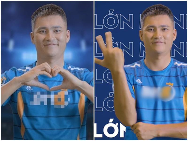 Thực hư Công Vinh nhảy múa, 'thả tim' tưng bừng trong video quảng cáo ứng dụng cá cược bóng đá?