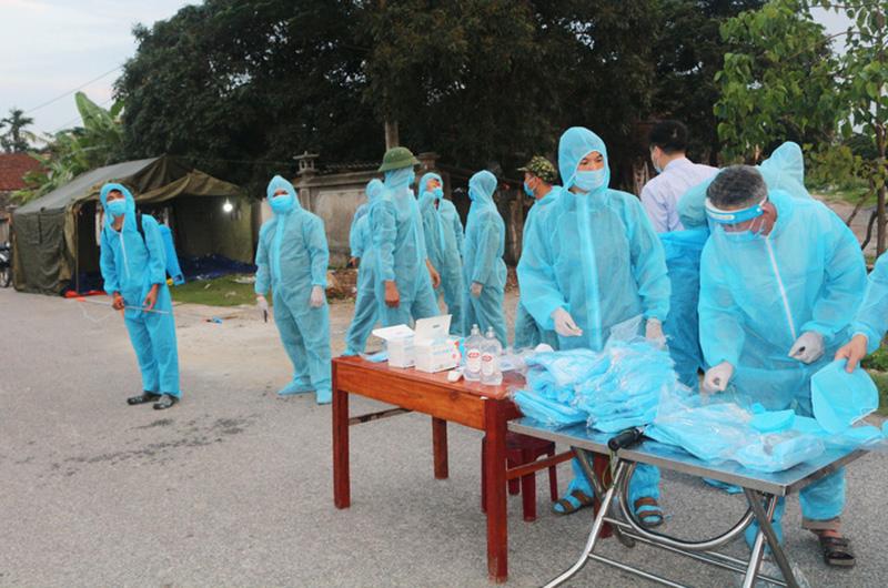Vĩnh Phúc thêm 38 ca nghi nhiễm COVID-19, cách ly xã hội thị trấn Yên Lạc đến ngày 24/5