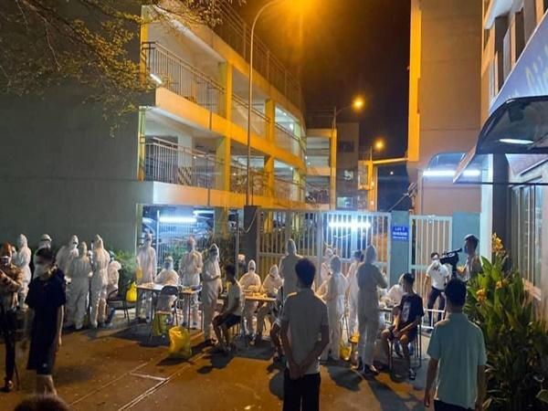 Bắc Ninh: Cách ly KTX với gần 1.200 công nhân sau khi ghi nhận 2 trường hợp nhiễm Covid-19