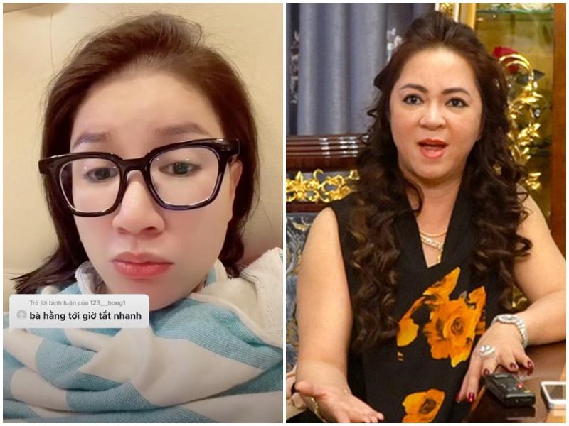 Dân mạng châm mồi 'nhắc khéo', Trang Trần lập tức réo tên vợ ông Dũng 'lò vôi': 'Sợ quá, sợ ngày nào cũng vào Facebook nhắc đến bà Phương Hằng'