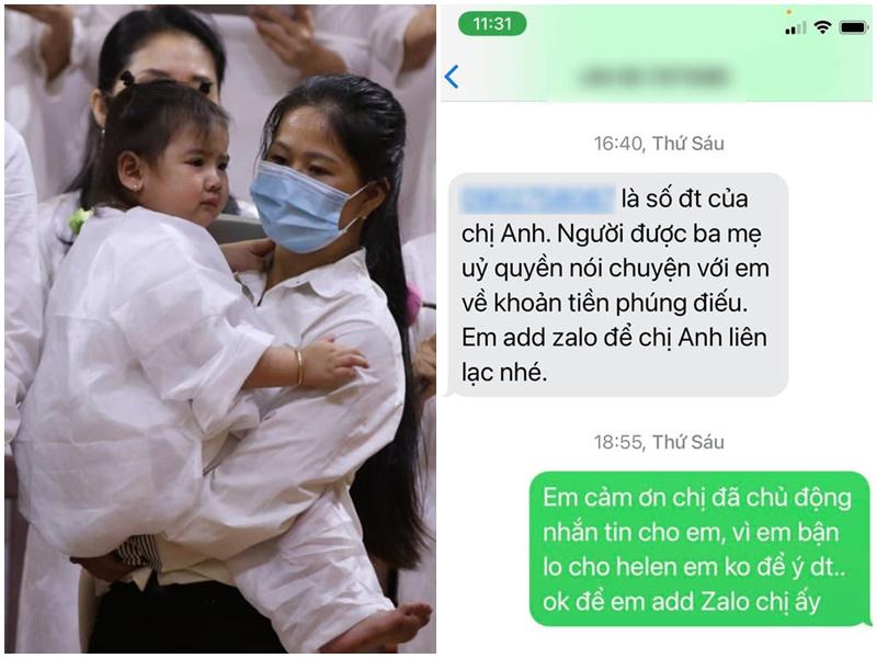 Linh Lan khẳng định không nhận tiền phúng điếu: 'Số tiền trên cái chết của ba Long đã bị người khác mượn cớ để vùi dập, để lại tủi nhục cho con gái'