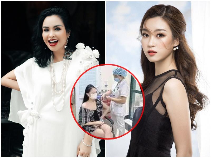Hậu tranh cãi tiêm vắc xin của Hoa Khôi Báo Chí, diva Thanh Lam và hoa hậu Đỗ Mỹ Linh có hành động lạ khiến dân tình xôn xao