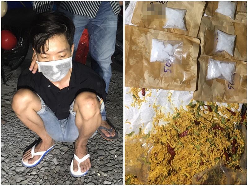 Lời dụng dịch bệnh, nam thanh niên ở Cà Mau tuồn chất cấm bán kiếm lời, ngụy trang tinh vi trong những gói khô gà