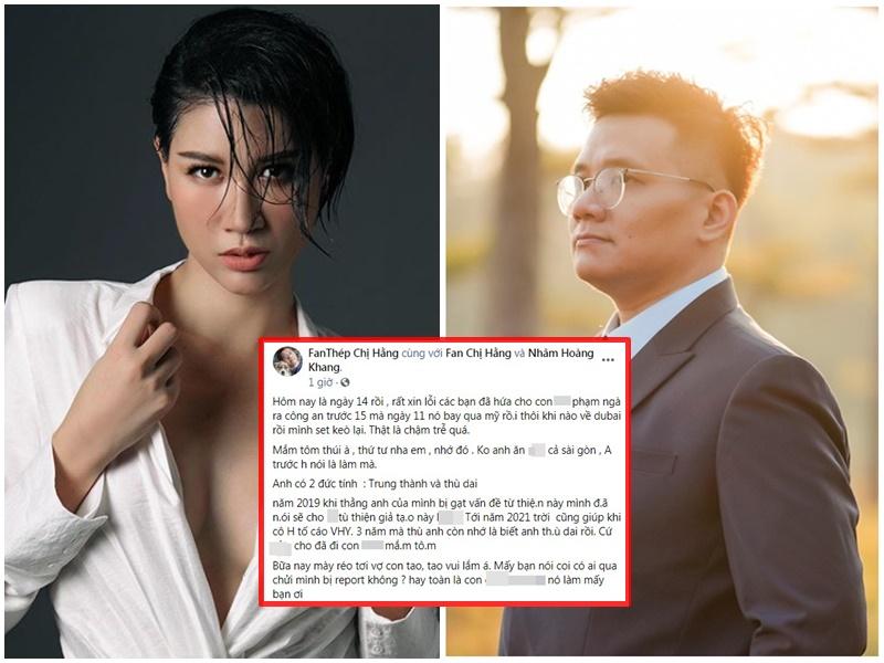 Bị réo tới vợ con, 'IT thù dai' Nhâm Hoàng Khang thách thức, ấn định cuộc hẹn 'sinh tử' với Trang Trần