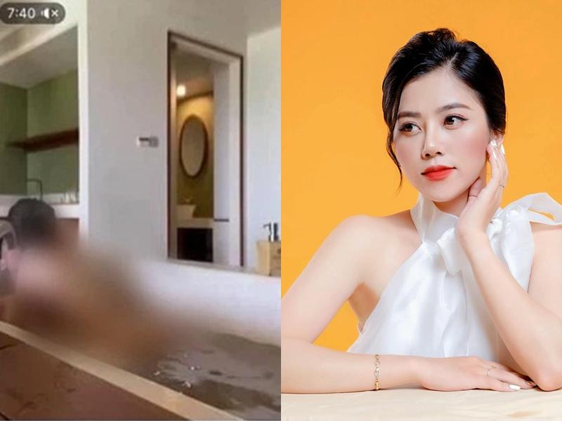MC VTV Vũ Hà Anh Thư lên tiếng về 'vụ clip 8 phút siêu hot' trên mạng xã hội