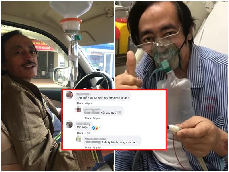 Nghệ sĩ Giang Còi đột ngột đăng bán 'xế hộp' gấp gáp khiến dân tình xót xa: 'Anh ấy bệnh nặng mới bán'