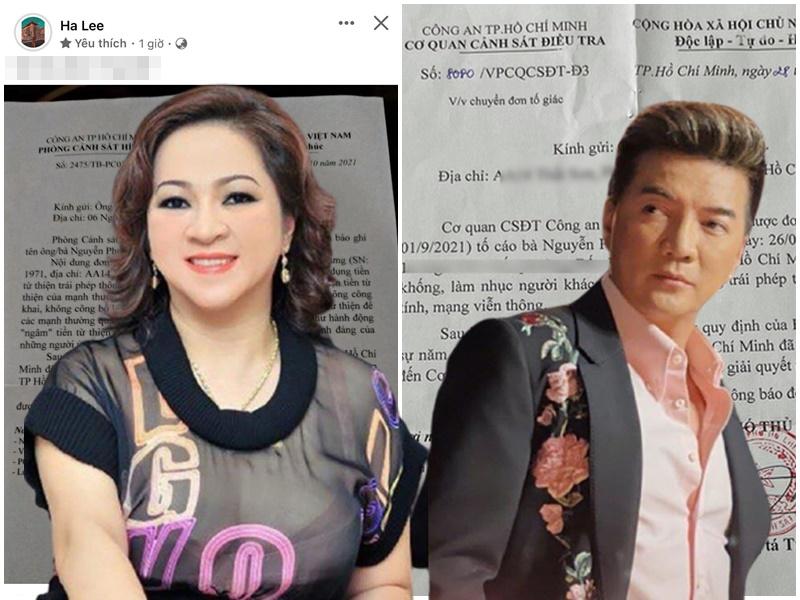 NÓNG: Đơn tố cáo Đàm Vĩnh Hưng được bà chủ Đại Nam gửi tới PC01, khẳng định giống vụ 'ngâm' tiền từ thiện của NS Hoài Linh, nữ thư ký liền có động thái 'LẠ'
