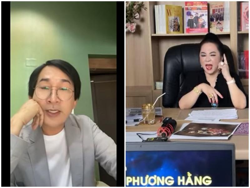 Kim Tử Long livestream 'nhắc khéo' vụ 'khẩu chiến' của bà Phương Hằng: 'Một lời nói không có gì khó khăn vì đó là sự thật', dân mạng réo tên Hoài Linh