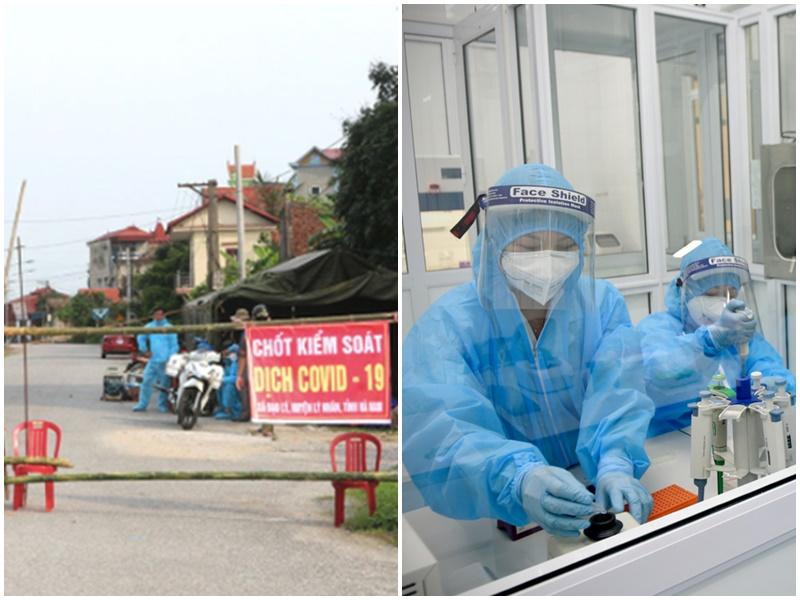 Thêm 3 ca dương tính với SARS-CoV-2 có liên quan đến bệnh nhân ở Hà Nam, trong đó có 1 nhân viên y tế