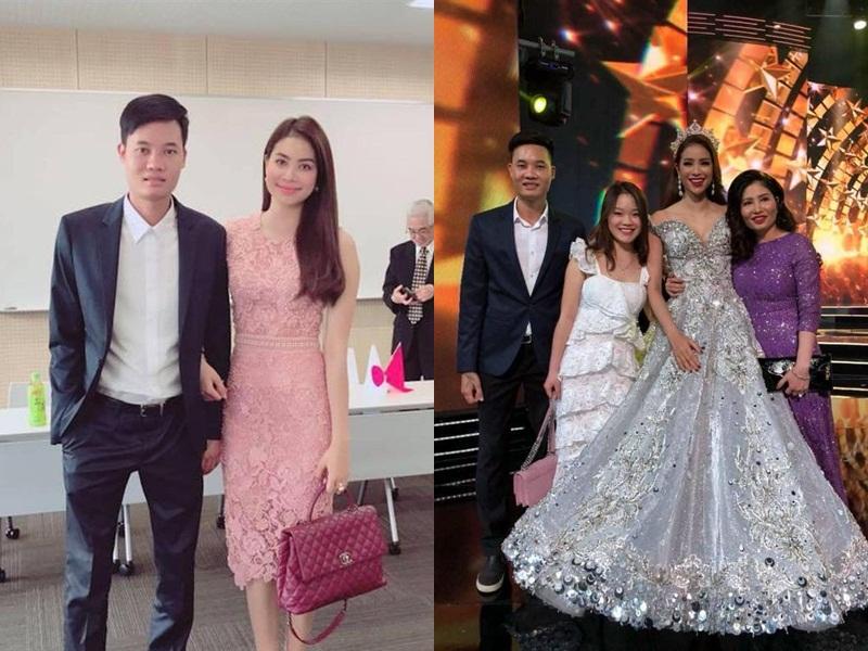 So kè nhan sắc 3 người phụ nữ quan trọng của em trai Phạm Hương khi hiếm hoi cùng xuất hiện cùng một khung hình