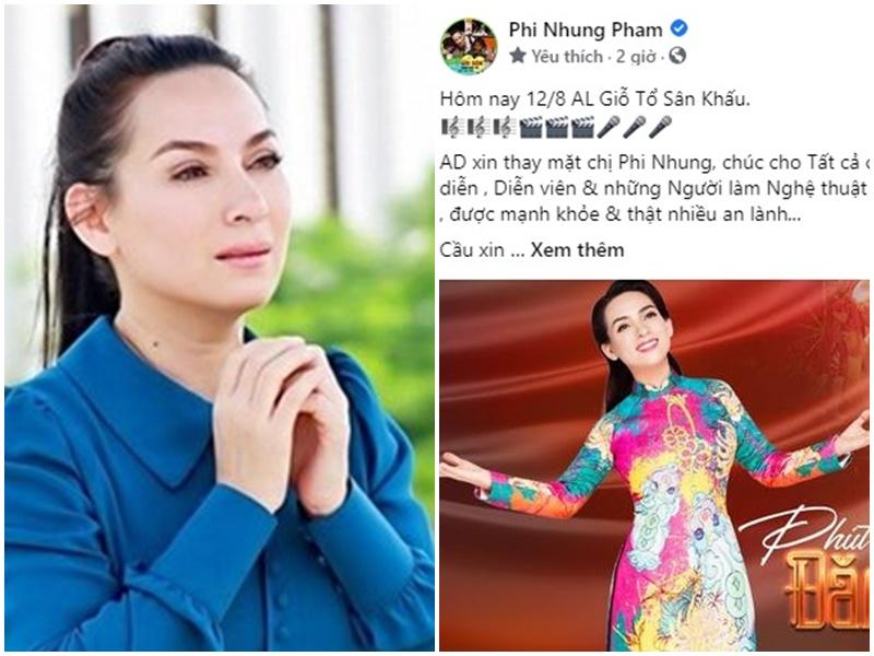 Trang Fanpage của Phi Nhung xuất hiện 7 câu thơ 'lạ', lời lẽ khiến khán giả không khỏi xót xa, thương cảm