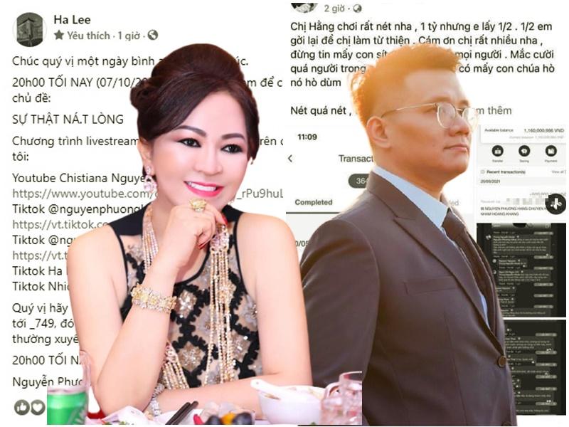 Từng là 'cộng sự' thân tình, giờ đây bà Phương Hằng 'chối bay chối biến' mối quan hệ với Nhâm Hoàng Khang, tiết lộ 'cậu IT' không hề đơn giản
