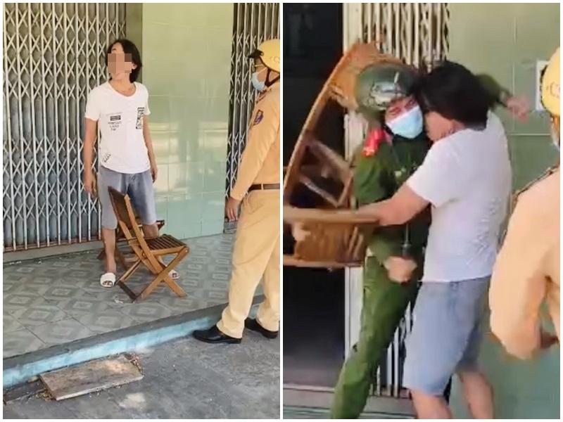 Vụ ông chú ở Đà Nẵng không đeo khẩu trang, vác ghế đánh công an: Người nhà tiết lộ bị loạn thần, từng có tiền án