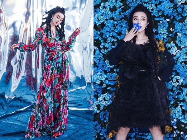 Bị 'ghẻ lạnh' tại Trung Quốc, Phạm Băng Băng đẹp tựa nữ thần trên tạp chí Nga