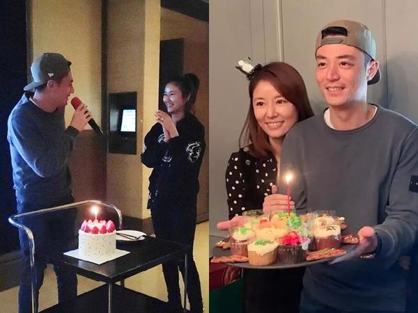 Lâm Tâm Như biến thành fan hâm mộ đặc biệt trong ngày sinh nhật Hoắc Kiến Hoa