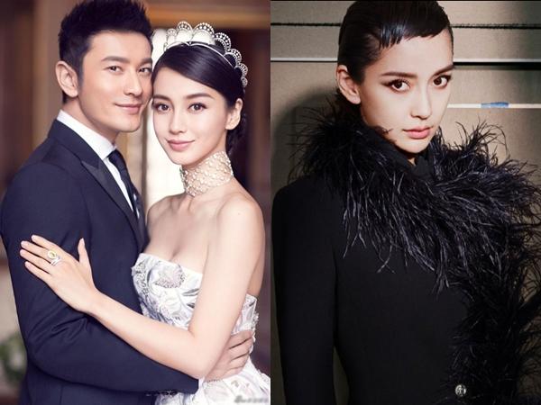 Một mực phủ nhận hôn nhân trục trặc nhưng Huỳnh Hiểu Minh và Angela Baby vẫn cách biệt thế này