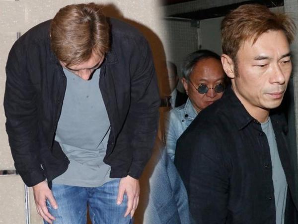 Nam tài tử Hong Kong ngoại tình trên xe taxi mở họp báo khóc lóc xin được tha thứ