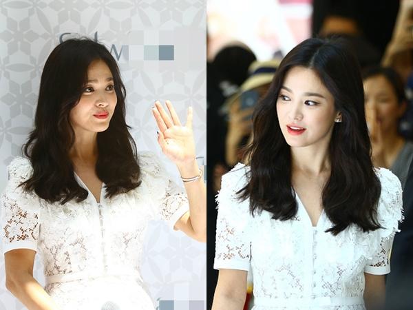 Nhan sắc của Song Hye Kyo gây tranh cãi với những tấm hình trước và sau chỉnh sửa