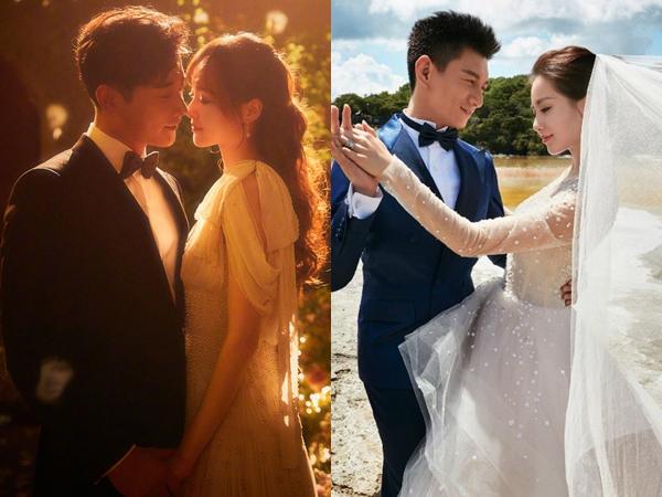 Những cặp đôi phim giả tình thật được yêu mến nhất màn ảnh nhỏ Hoa ngữ
