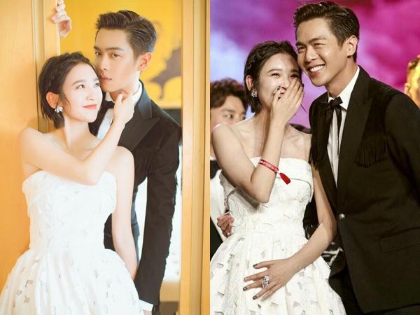 'Tan chảy' với những hình ảnh ngọt ngào của Đường Nghệ Hân và Trương Nhược Quân trước tin đồn sắp kết hôn