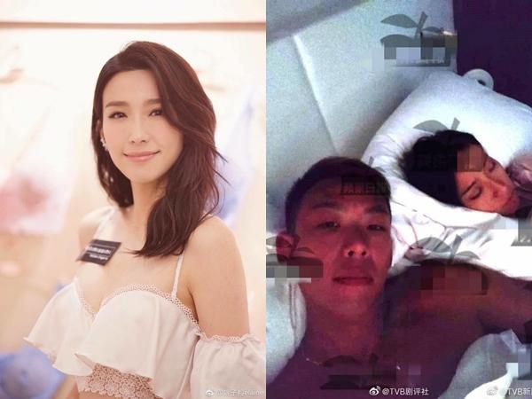 Sau scandal của Huỳnh Tâm Dĩnh, lại một diễn viên TVB bị phanh phui giật chồng của bạn thân