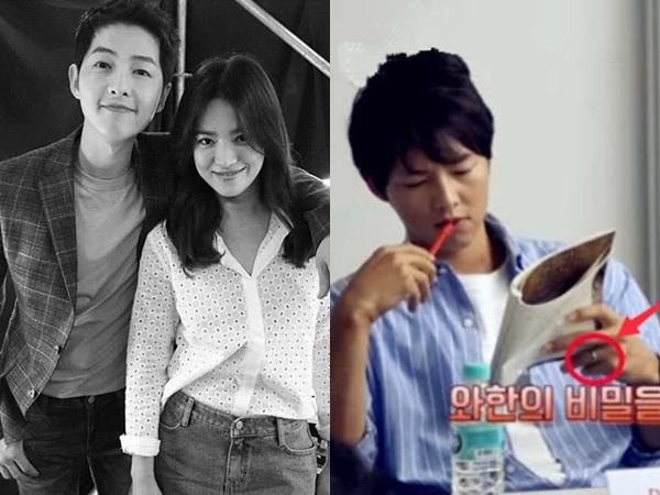 Song Joong Ki đeo nhẫn cưới trở lại, xóa tan tin đồn hôn nhân rạn nứt