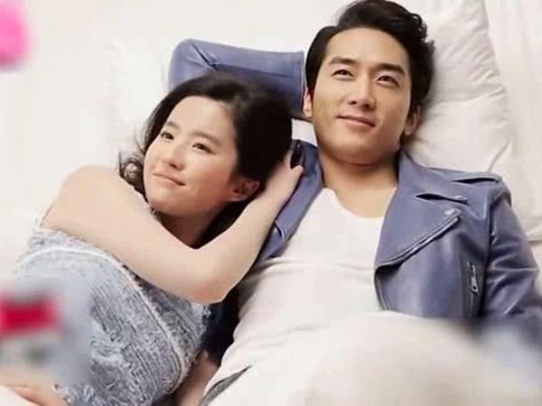 Vội vàng phủ nhận tái hợp nhưng Song Seung Hun lại 'đắc tội' với Lưu Diệc Phi
