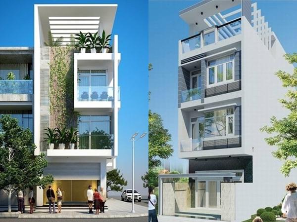 10 mẫu nhà phố 3 tầng 1 tum độc đáo nhất 2019