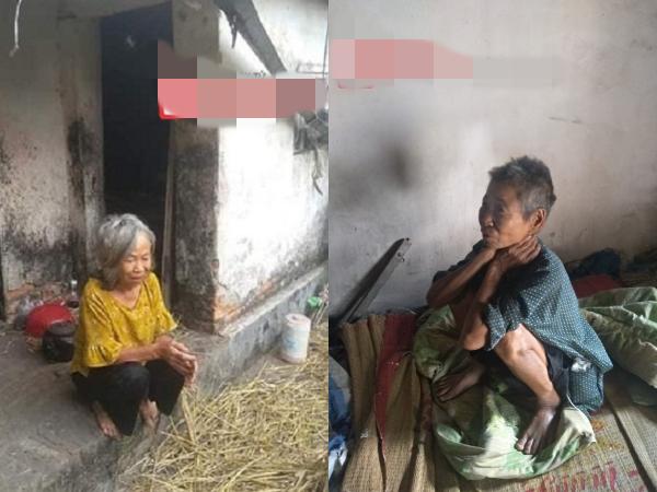 2 chị em cụ bà tâm thần hơn 30 năm lay lắt trong ngôi nhà dột nát