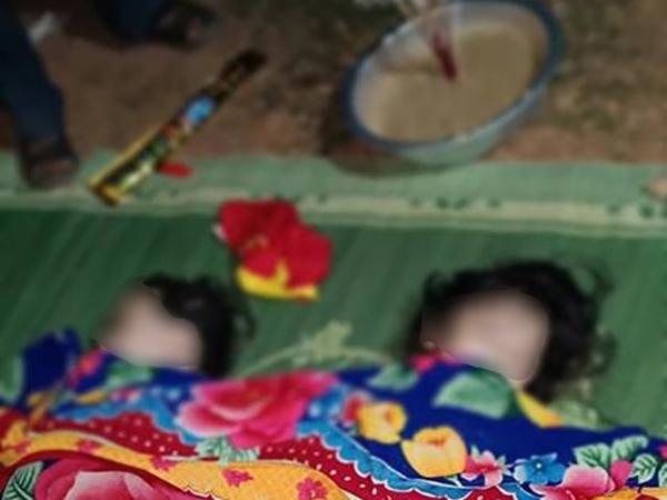 Giáp Tết, cha mẹ nghèo khóc ngất bên quan tài hai đứa con thơ tử vong vì đuối nước