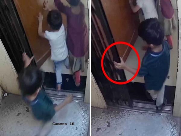 3 chị em cùng đi thang máy, bé trai chết thương tâm, cảnh tượng cuối cùng khiến phụ huynh ám ảnh