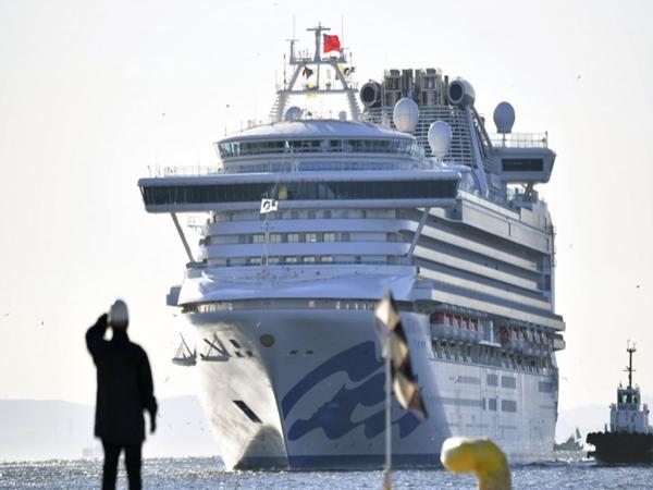 70 ca nhiễm virus corona trên du thuyền đang bị cách ly ngoài khơi ở Nhật