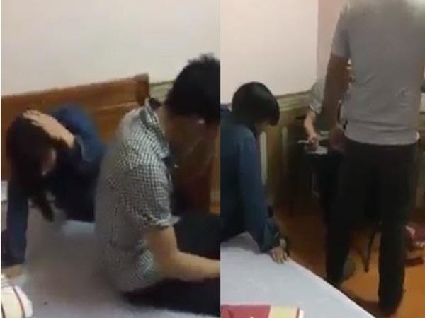 Nóng: Ngày 8/3, vợ dẫn bồ vào khách sạn bị chồng bắt gặp đánh tơi tả tại giường