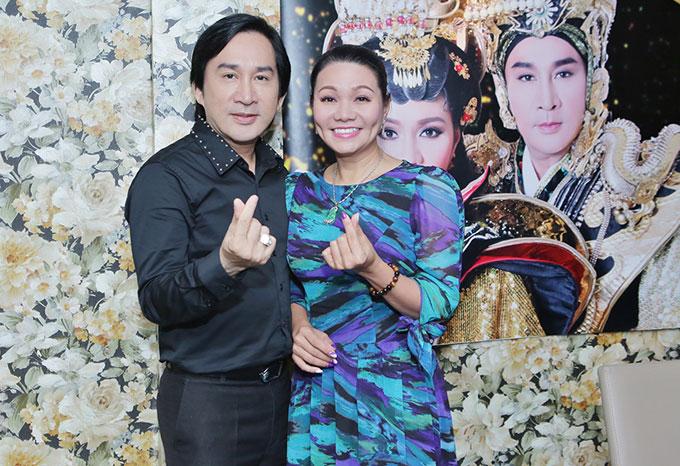 Ngọc Huyền, Kim Tử Long diễn lại 'Xử án Phi Giao' sau 17 năm - Ảnh 2