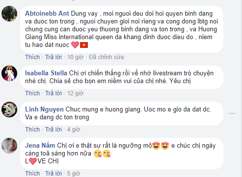 Không ngờ Hoa hậu Hương Giang lại phản ứng thế này khi được nghệ sĩ Trung Dân chúc mừng - Ảnh 5