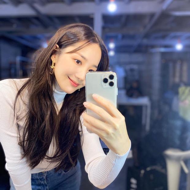 Học Park Min Young 3 set đồ chuẩn đẹp mùa thu cực dễ mua dễ mặc - Ảnh 1