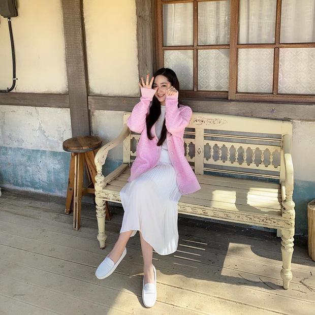 Học Park Min Young 3 set đồ chuẩn đẹp mùa thu cực dễ mua dễ mặc - Ảnh 2