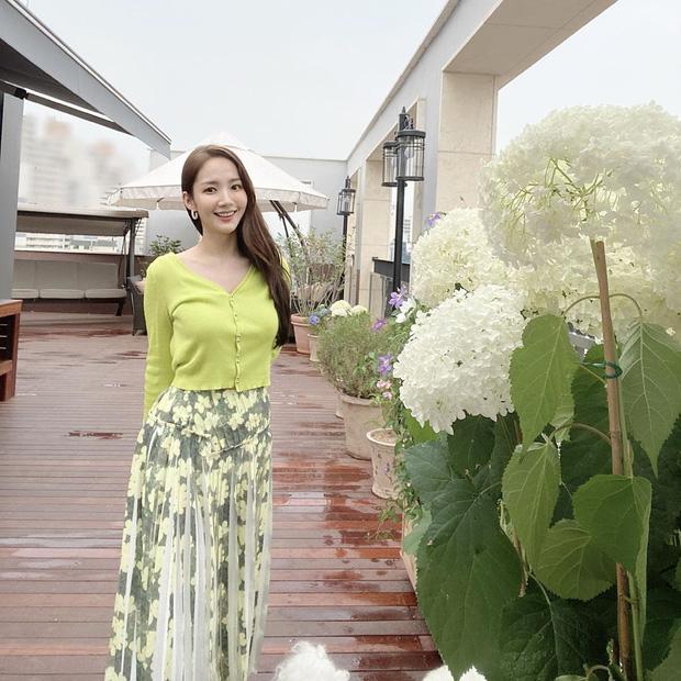 Học Park Min Young 3 set đồ chuẩn đẹp mùa thu cực dễ mua dễ mặc - Ảnh 3