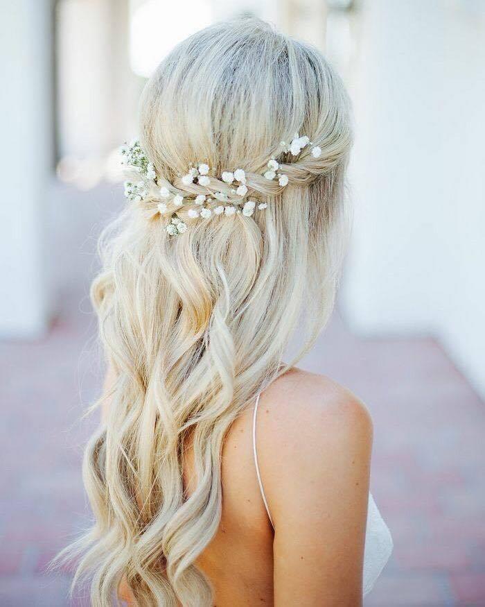 4 kiểu tóc cài hoa tươi cho cô dâu được yêu thích nhất 2017 - Ảnh 3