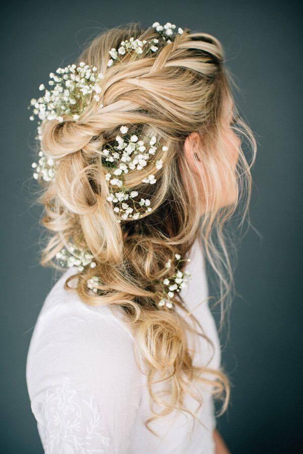 4 kiểu tóc cài hoa tươi cho cô dâu được yêu thích nhất 2017 - Ảnh 7