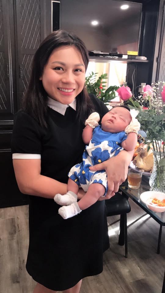 Diễn viên Hoàng Anh cùng vợ tổ chức tiệc đầy tháng cho con ở Mỹ - Ảnh 2