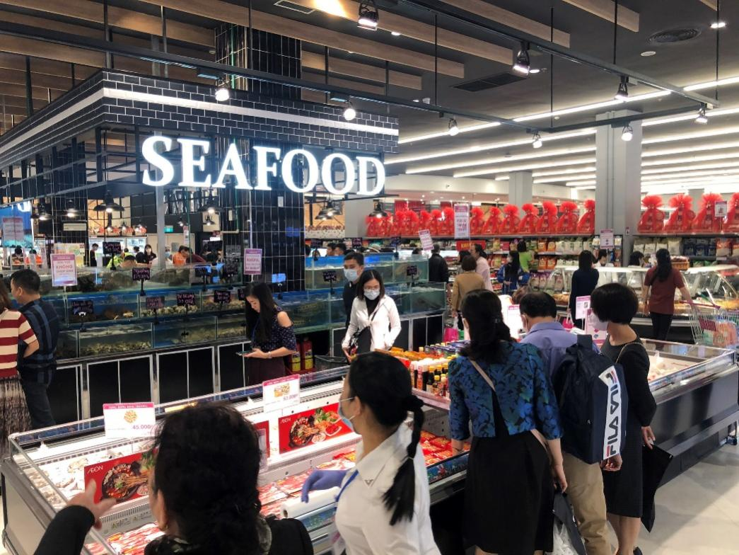 Hàng nghìn lượt khách hàng trải nghiệm mua sắm tại siêu thị lớn nhất thành phố Cảng ngày mở cửa - Ảnh 3