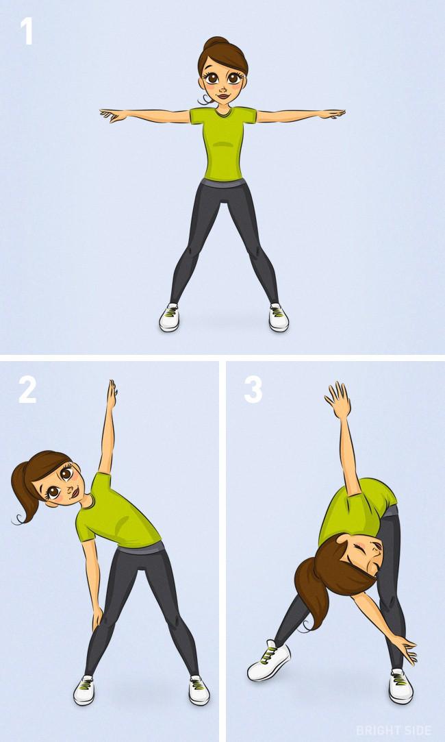 Bài tập kết hợp giúp giảm 3kg trong 1 tuần với 10 động tác, không cần ăn kiêng - Ảnh 10