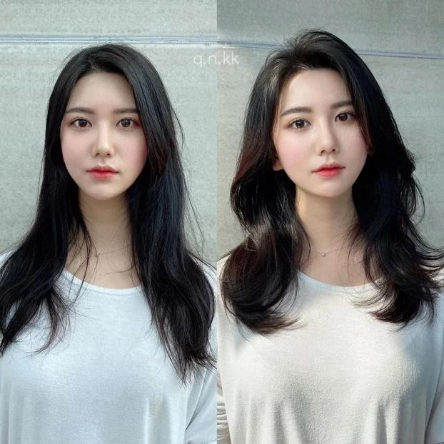 11 kiểu tóc layer Hàn Quốc xinh lung linh cho bạn gái - Ảnh 4