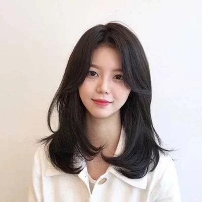 11 kiểu tóc layer Hàn Quốc xinh lung linh cho bạn gái - Ảnh 6