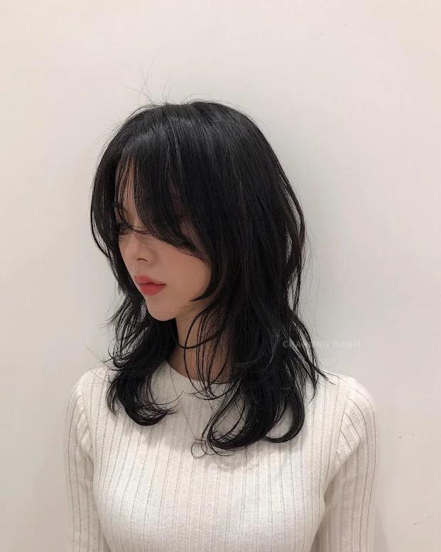 11 kiểu tóc layer Hàn Quốc xinh lung linh cho bạn gái - Ảnh 7