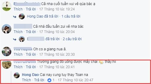 Bình luận của bố Nhã Phương.